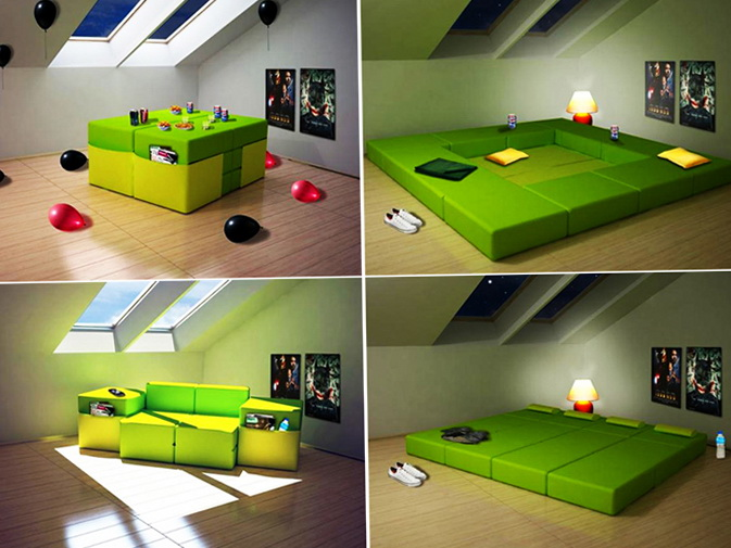 1 modern furniture for small rooms Modern Furniture For Small Rooms