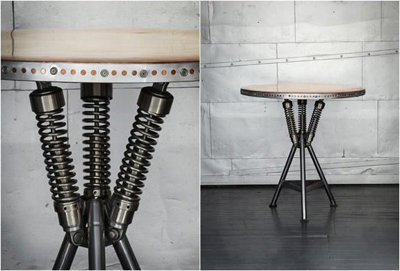 3 moto furniture from recycled bike parts Moto Furniture from Recycled Bike Parts
