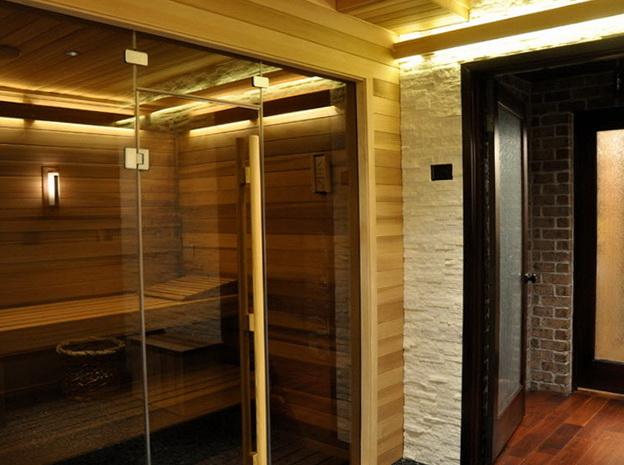 Comfortable Apartment In The Sauna Home Interior Design Kitchen And Bathroom Designs