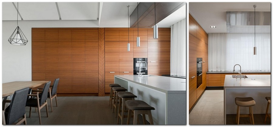 Contemporary Russian House 3 In 1 Home Interior Design