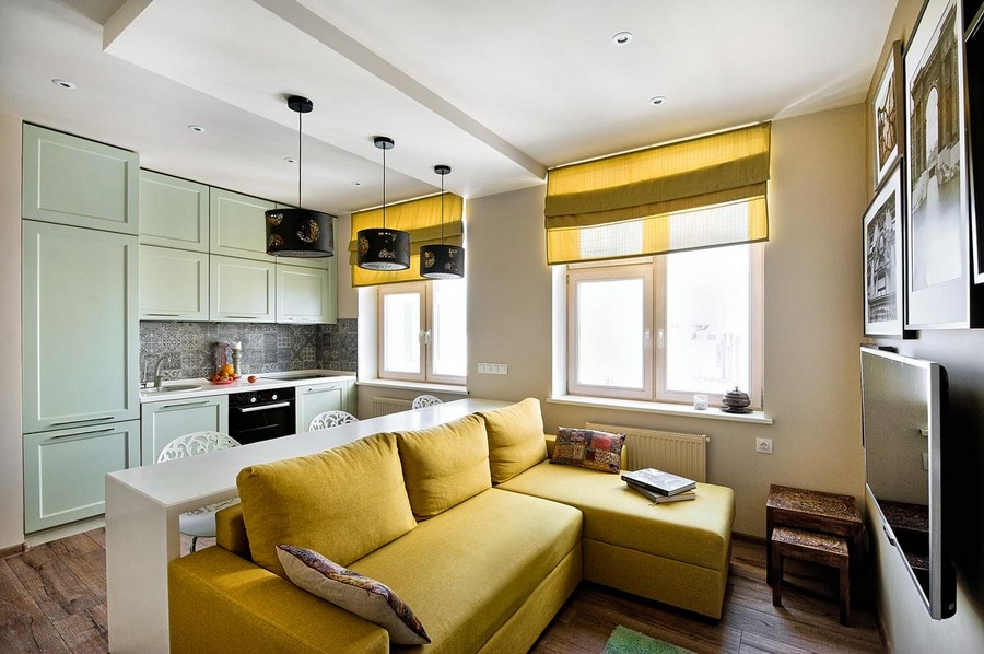 Yellow Living Room Decorating Ideas