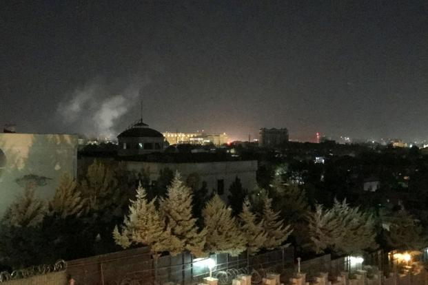 Rocket Explodes at US Embassy in Afghanistan