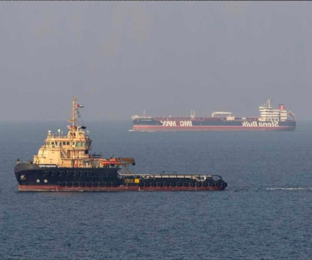 Missile Attack on Iranian Tanker in Saudi Waters