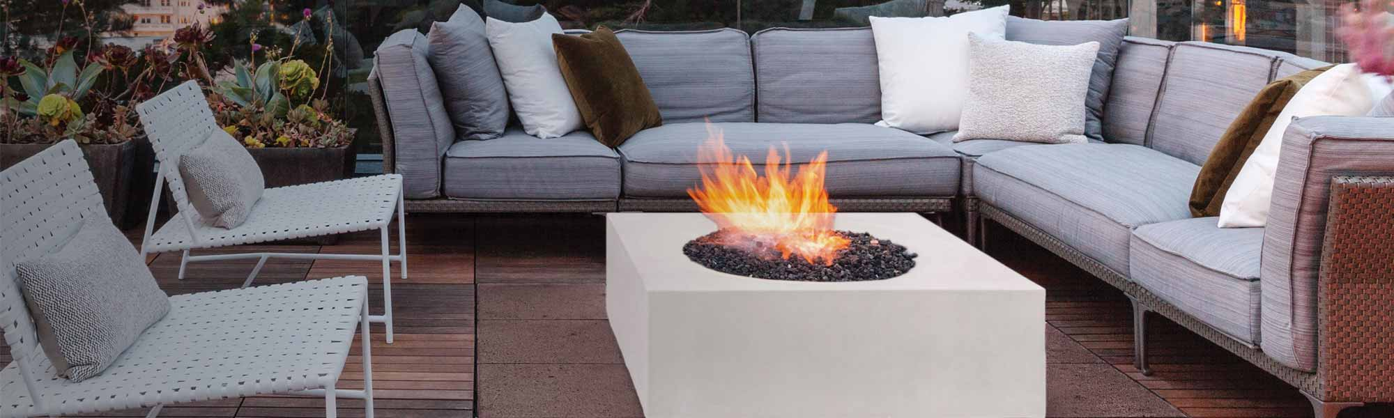 new outdoor patio fire pit tables blog