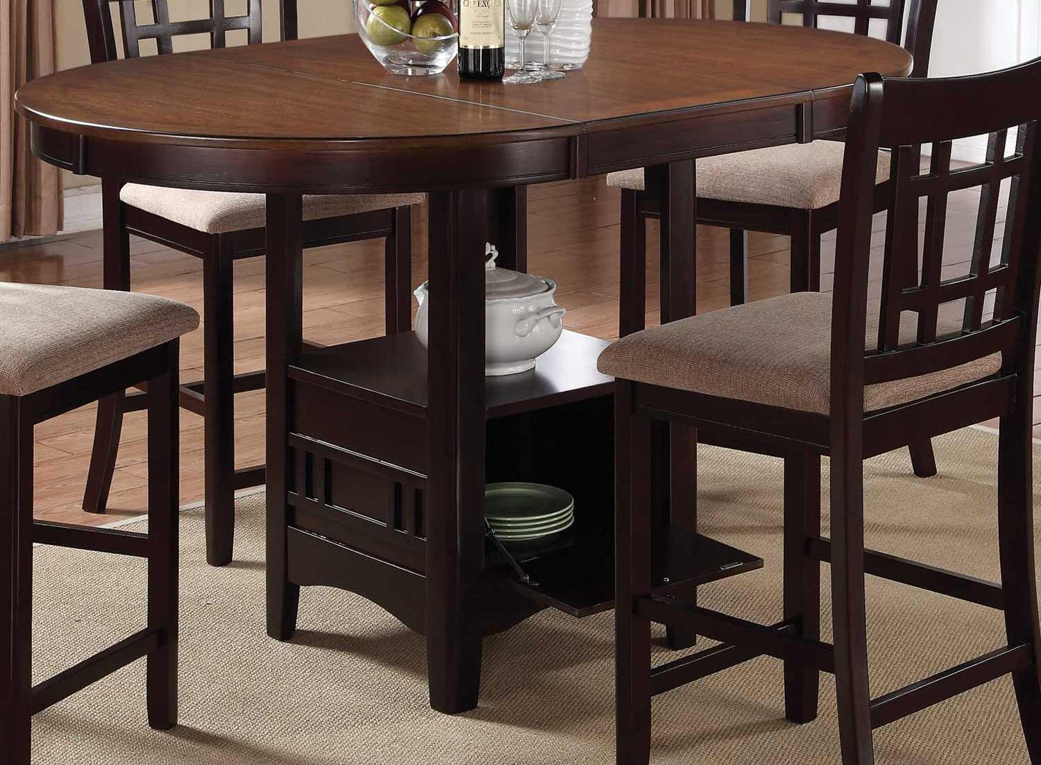 Coaster Lavon Counter Height Table