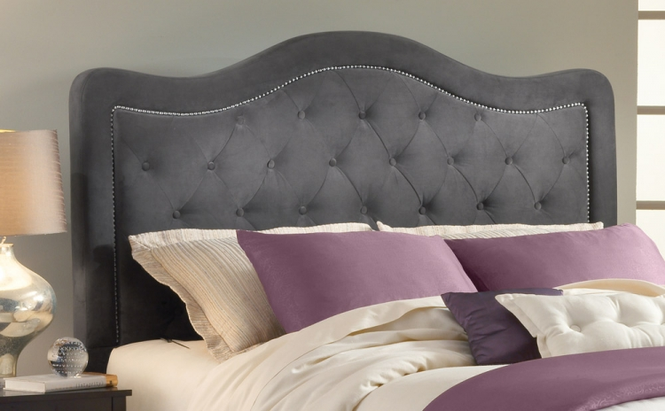 Hillsdale Trieste Tufted Upholstered Bed