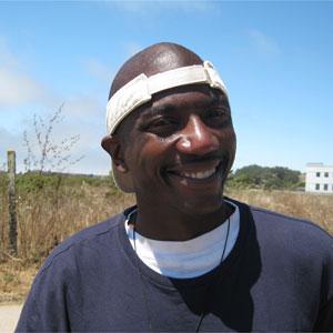 Robert, an intern at the homelessgardenproject.org