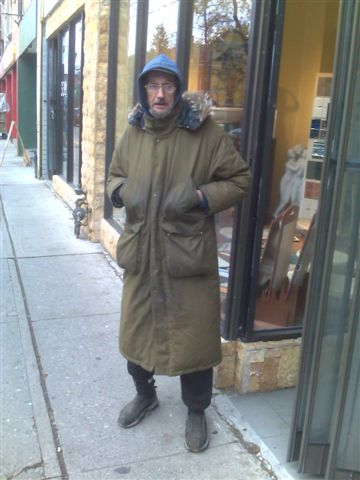 Tony's old coat