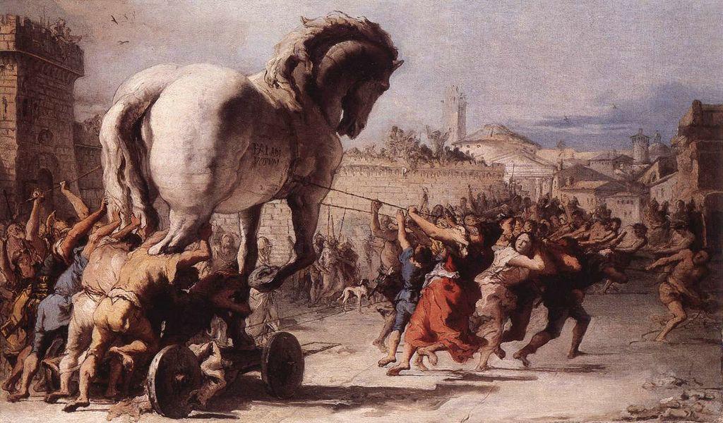 Trojan porsche
