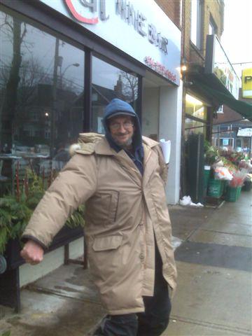 Tony's new coat