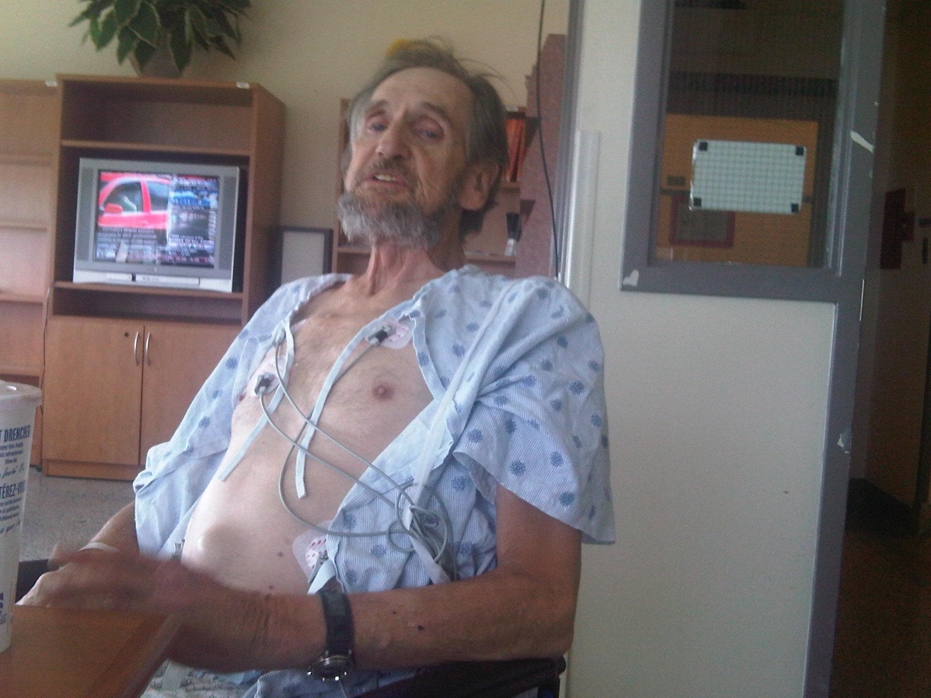 2 - Tony in Hospital  - Oct 5 2009