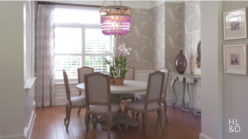 passion For Purple Dining Room Vero Beach Home Design Vero Beach Interior Designer Jill shelvin