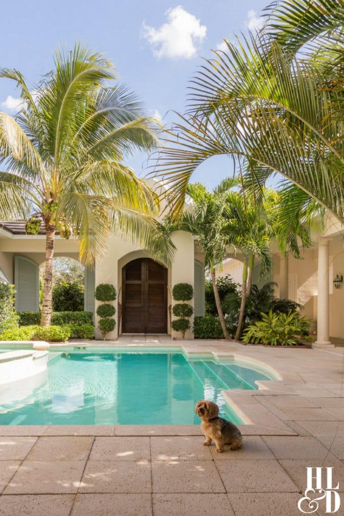 Orchid Island Courtyard Home Vero Beach, Jill Shevlin Design, Courtyard Homes