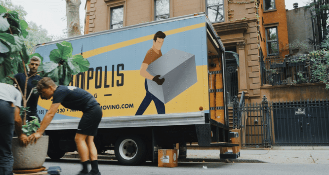Movers helping people sellers move.