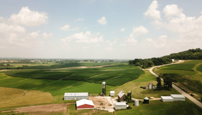 A farm where you can get down payment assistance with.