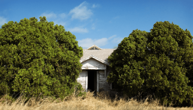 A fixer upper house that is affordable.