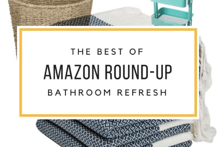 10 Amazon Favorites For A Quick Bathroom Refresh