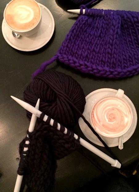 Knit Aid Workshop- Pennethorne's Cafe