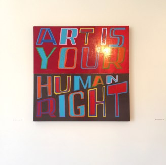 Art is Your Human Right, Bob and Roberta Smith