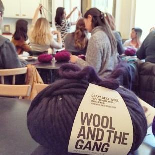 Knit Aid workshop