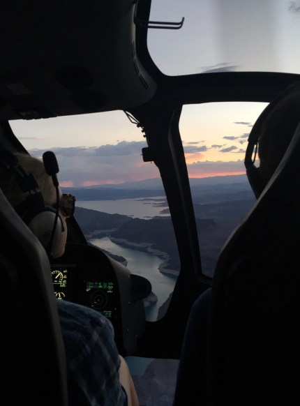 Sunset Helicopter tour of the Grand Canyon