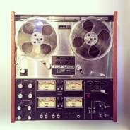TEAC Tape recorder (A-2340 Simul-sync) at the Mob Museum, Las Vegas