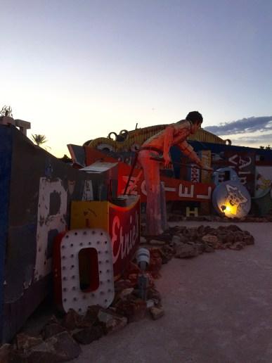 Sunset Tour of the Neon Bone Yard, Neon Museum, Las Vegas