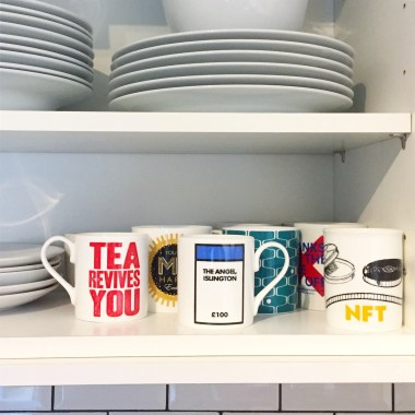 Our recently reduced collection of mugs
