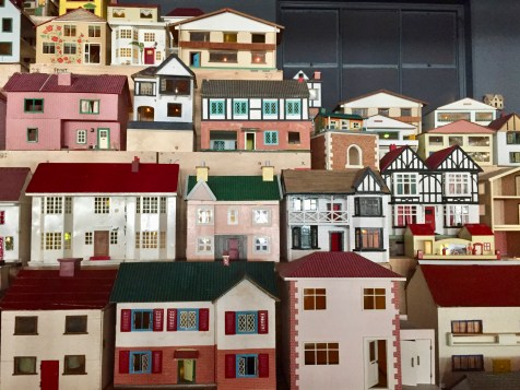 Place (village) by Rachel Whiteread at the Museum of Childhood, Bethnal Green