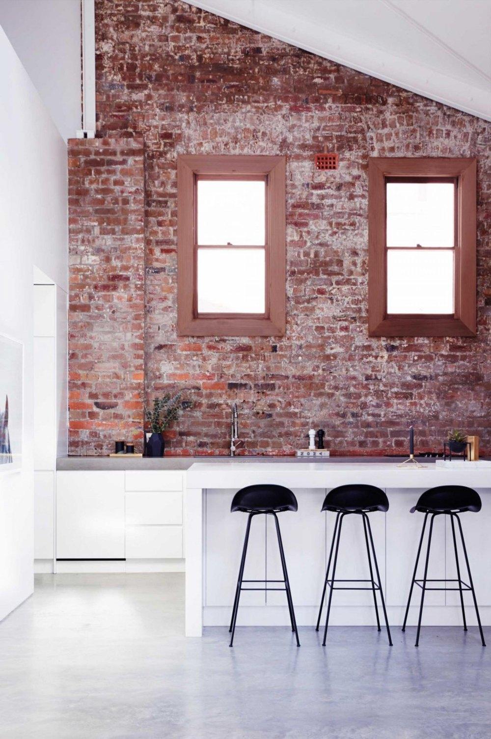 Red Brick Walls Interior Design Novocom Top