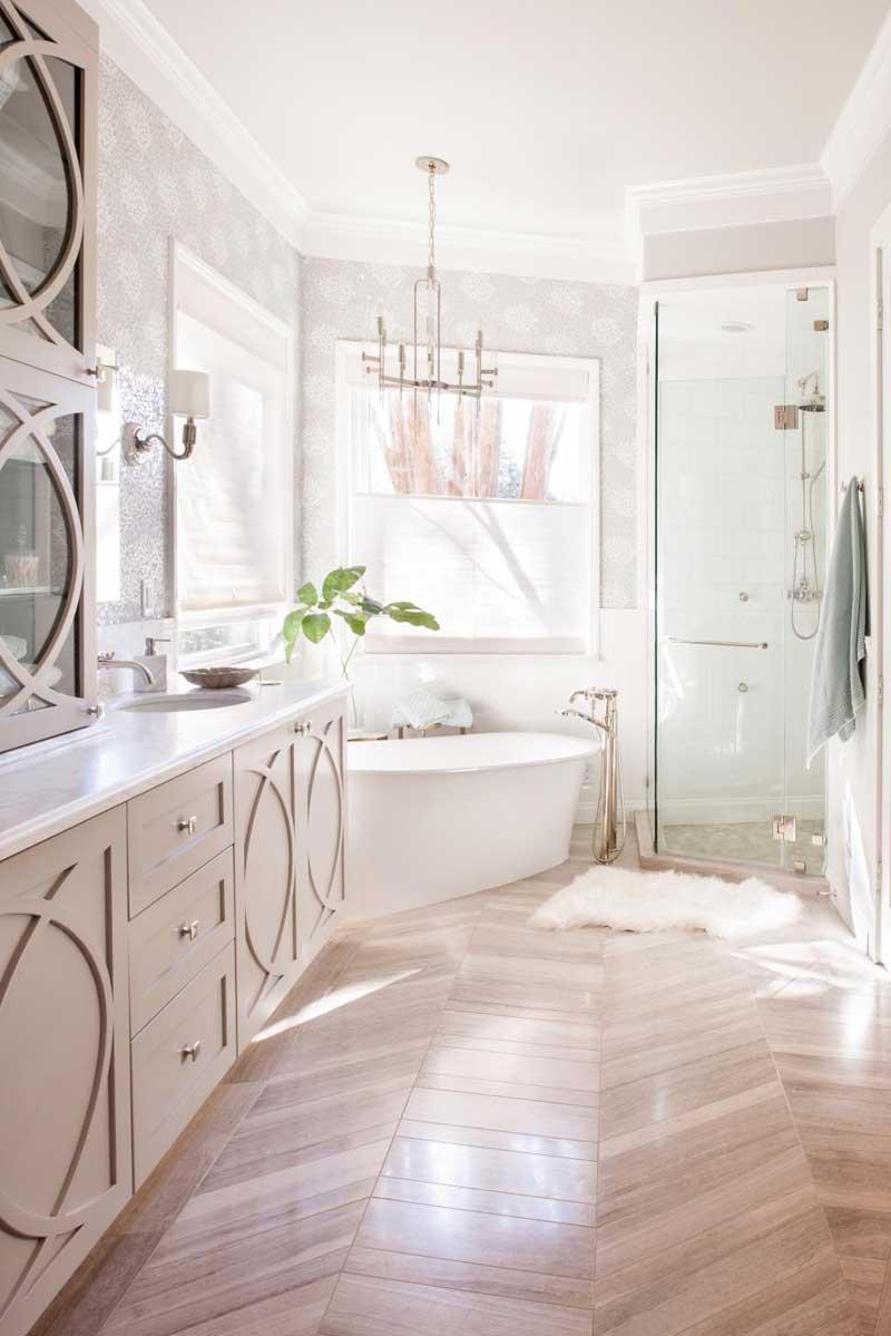 Bathroom with Hardwood Floor