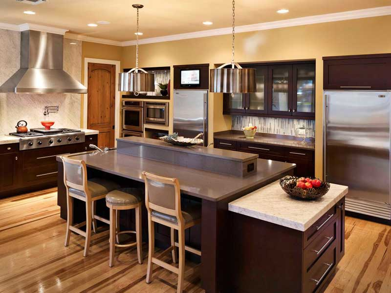 75 kitchen design and remodelling ideas before and after for High end kitchens designs