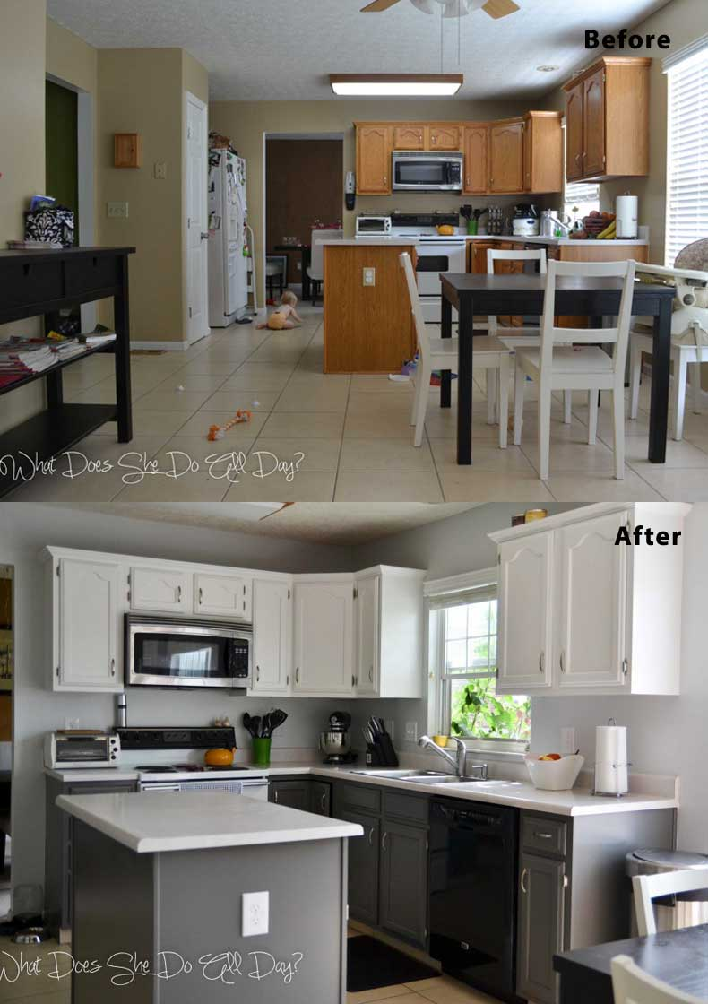 Kitchen remodel ideas before and after 10