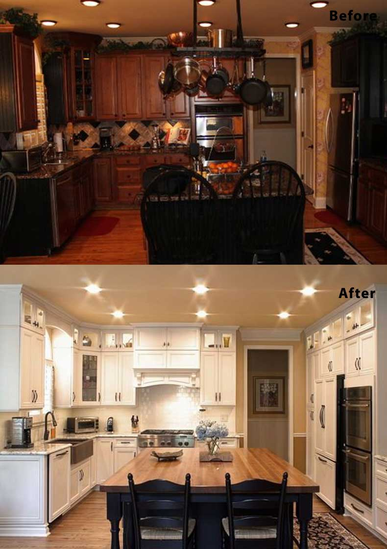 Kitchen remodel ideas before and after 12