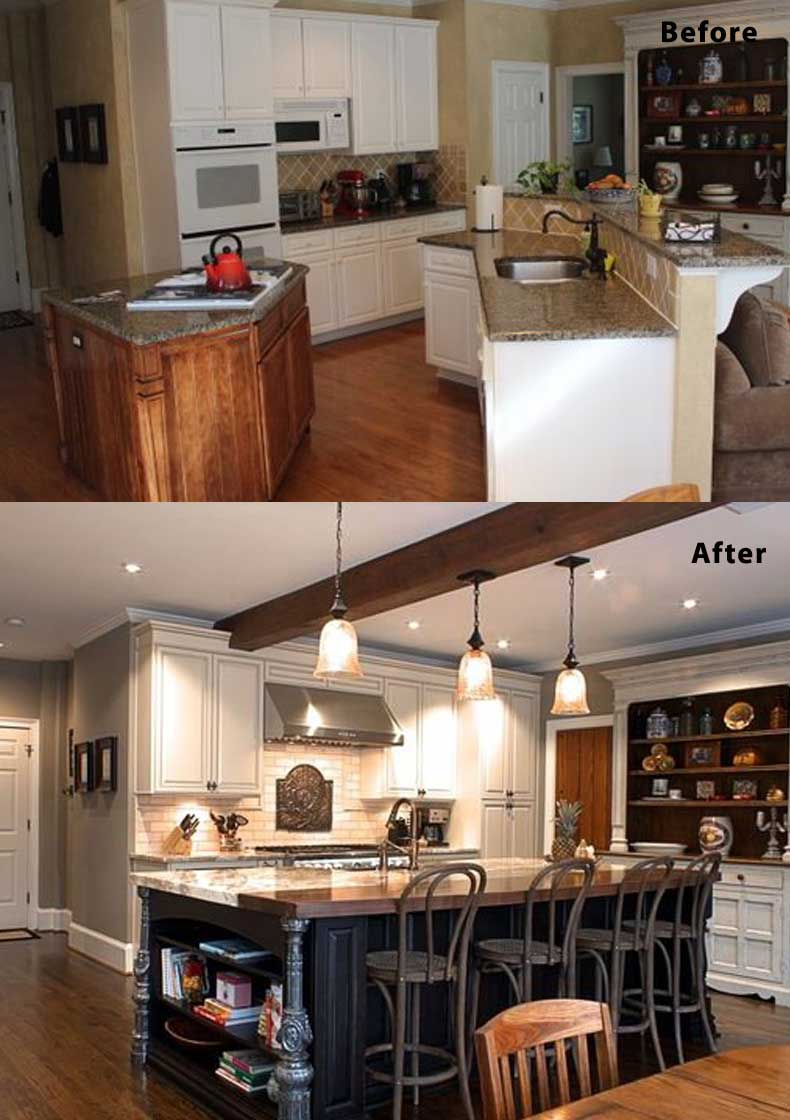 Kitchen remodel ideas before and after 14
