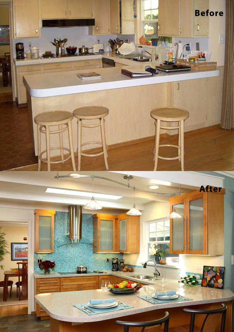 Kitchen remodel ideas before and after 25