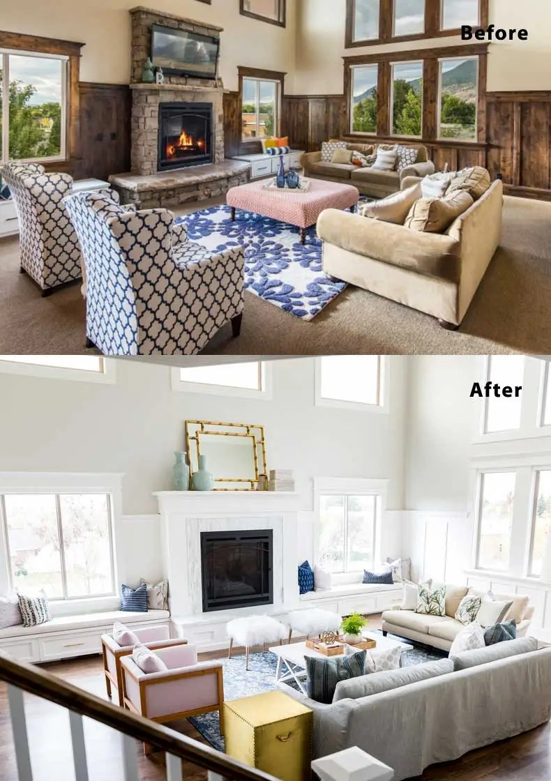 Living Room Remodels Before and After 03