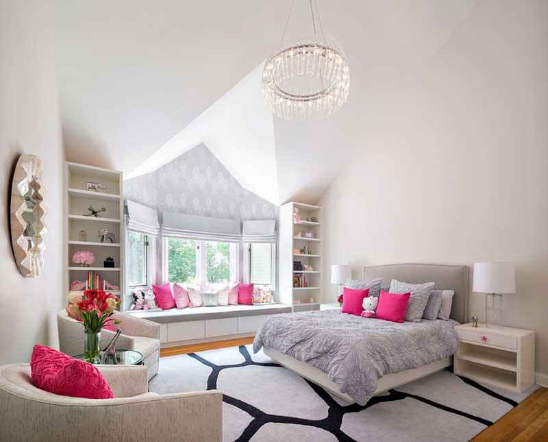 Contemporary Teenage Girl Bedroom
