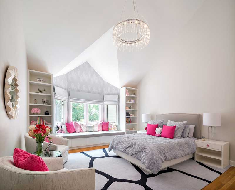 contemporary teenage girl bedroom - Girl Bedroom