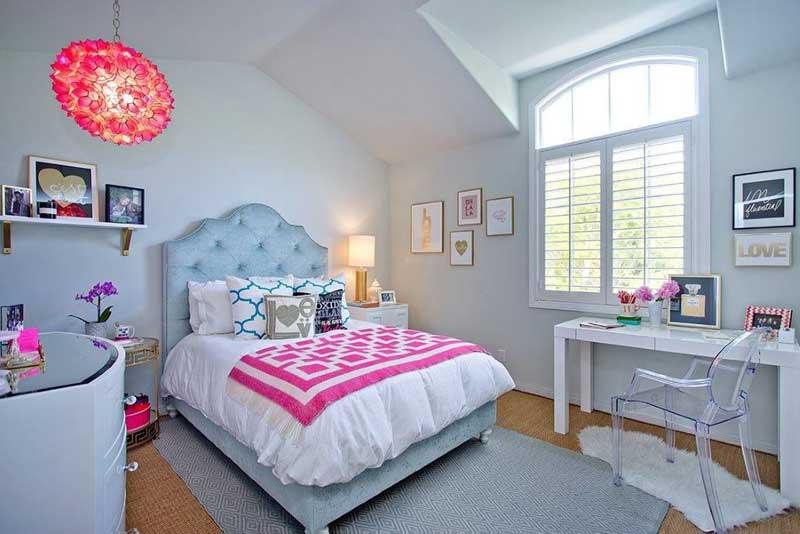 45 Teenage Girl Bedroom Design Ideas - Homeluf on Bedroom Ideas Teenage Girl  id=63712