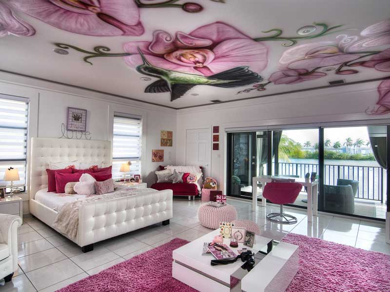 Girls Luxury Bedding: 45 Teenage Girl Bedroom Design Ideas