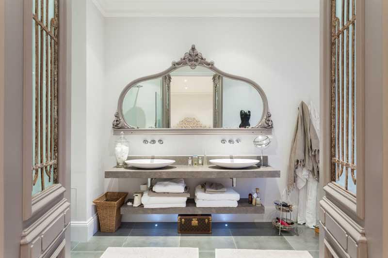 Modern Baroque Mirror