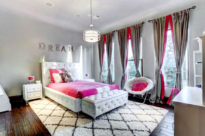 45 Teenage Girl Bedroom Design Ideas - HOMELUF