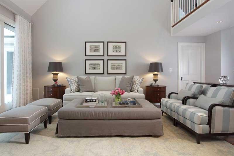 Stylish Gray Living Room