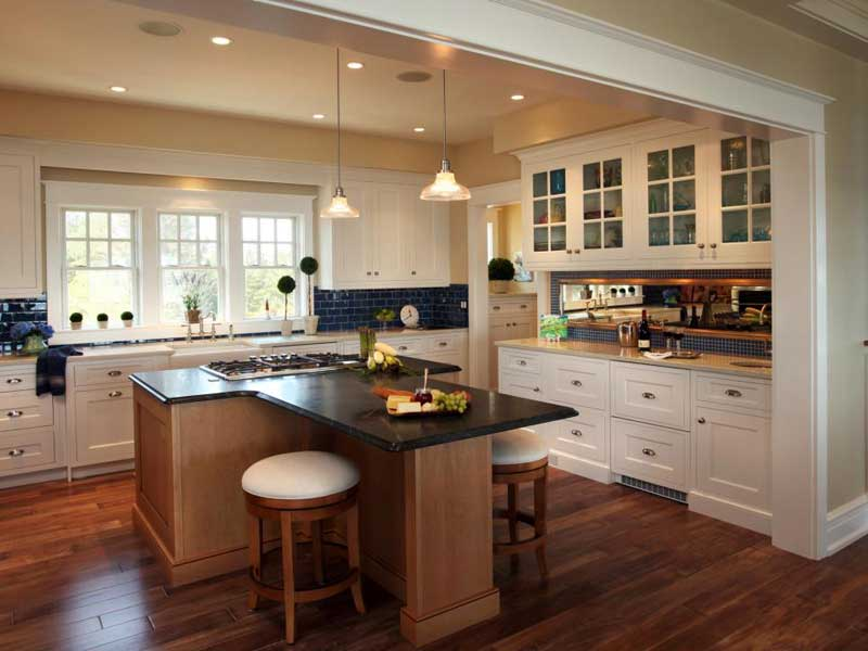 Ordinaire T Shaped Kitchen Island