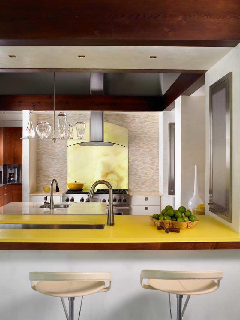 Yellow Granite Countertop