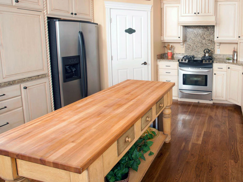 simple-furniture-style-butcher-block-kitchen-island