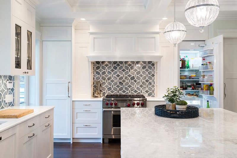 Princess White Granite aka Quartzite in Kitchen