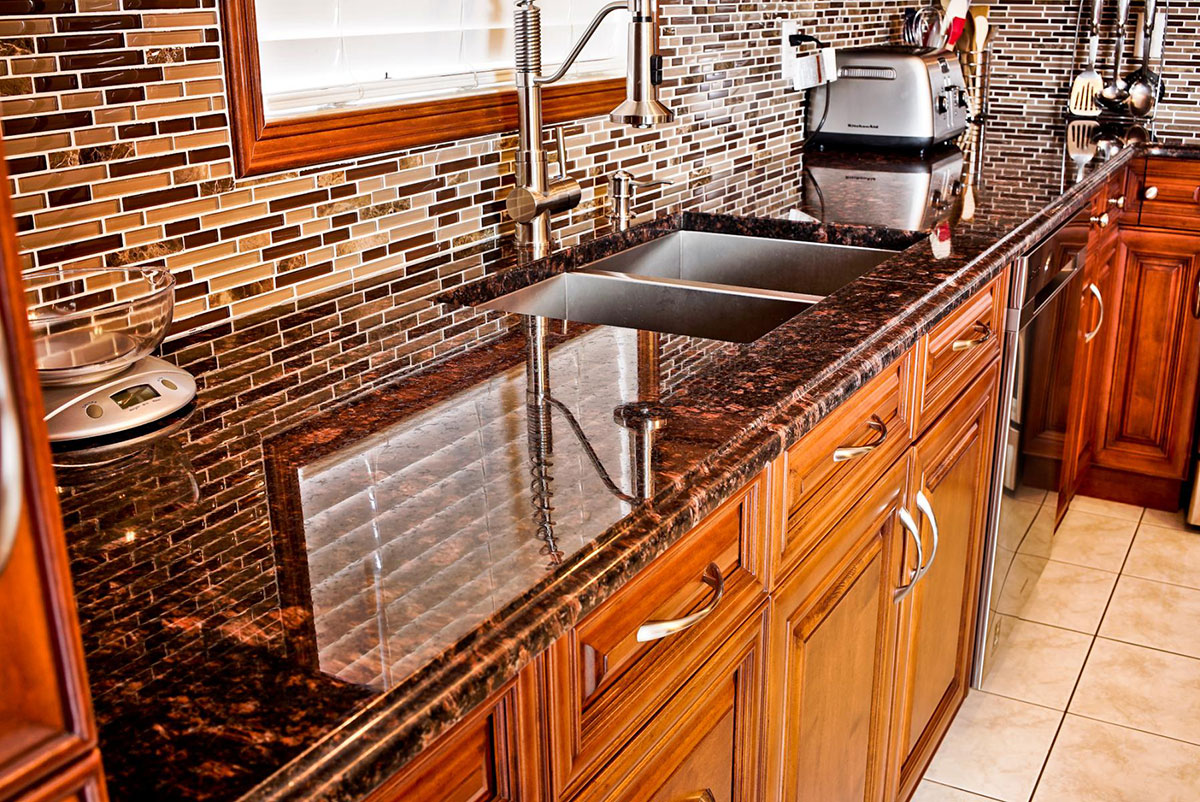 Tan Brown Granite Countertops Pictures Cost Pros And Cons