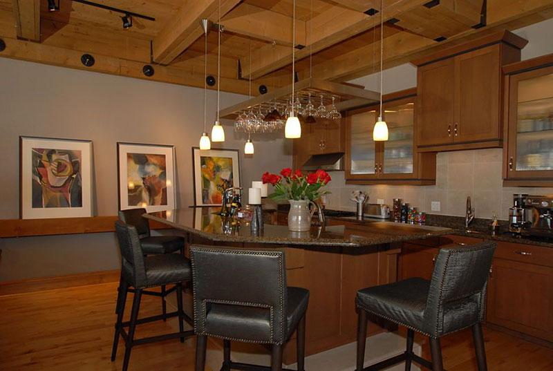 Tan brown granite countertops kitchen